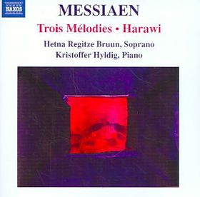 Messiaen: Trois Melodies - Trois Melodies (CD)