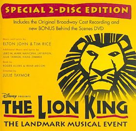 Lion King on Broadway (Ocr) - (Import CD)
