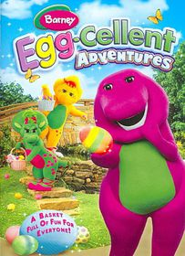 Barney:Egg Cellent Adventures - (Region 1 Import DVD)
