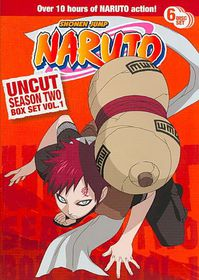 Naruto Uncut Ssn2 Box Set V1 - (Region 1 Import DVD)
