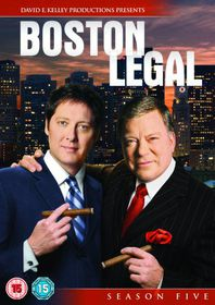 Boston Legal - Series 5 - Complete - (Australian Import DVD)