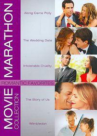 Romantic Favorites Movie Marathon Col - (Region 1 Import DVD)