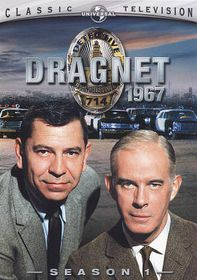 Dragnet 1967:Season 1 - (Region 1 Import DVD)