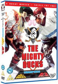 The Mighty Ducks Trilogy - (Import DVD)