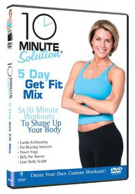 10 Minute Solution - Five Day Get Fit Mix - (Import DVD)