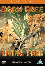 Born Free / Living Free - (Import DVD)