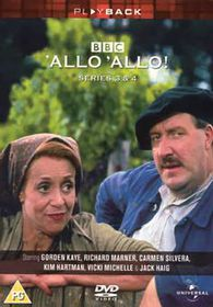 Allo Allo - Series 3 & 4 - (Import DVD)