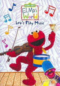 Elmo's World:Let's Play Music - (Region 1 Import DVD)