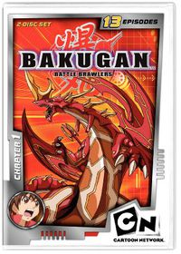 Bakugan Chapter 1 - (Region 1 Import DVD)