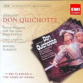 Opera Series: Massenet- Don Quichotte - Various Artists (CD)