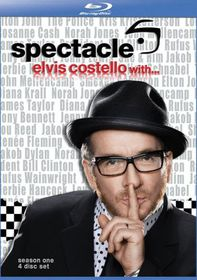 Spectacle - Elvis Costello: Season 1 - (Import Blu-ray Disc)