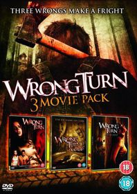 Wrong Turn 1 & 2 & 3 - (Import DVD)
