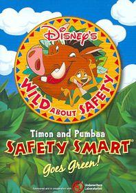 Disney's Wild About Safety:Goes Green - (Region 1 Import DVD)