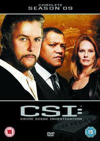 C.S.I. - Crime Scene Investigation - Vegas - Series 9 - (Import DVD)