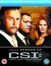 CSI - Crime Scene Investigation: Vegas - Season 9 - (Import Blu-ray Disc)