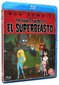Rob Zombie Presents The Haunted World Of El Superbeasto - (Import DVD)