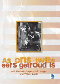 As Ons Twee Eers Getroud Is (DVD)
