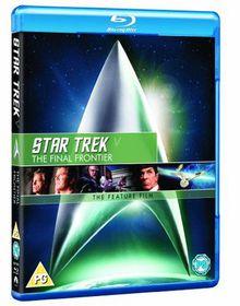 Star Trek 5: The Final Frontier - (Import Blu-ray Disc)