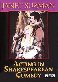 Acting in Shakespearean Comedy - (Region 1 Import DVD)