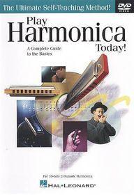 Play Harmonica Today - (Region 1 Import DVD)