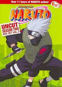 Naruto Uncut Ssn2 Box Set V2 - (Region 1 Import DVD)