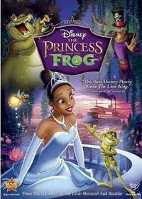 Princess and the Frog - (Region 1 Import DVD)