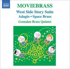 Gomalan Brass Quintet - Moviebrass (CD)