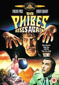 Dr. Phibes Rises Again (Import DVD)