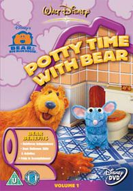 Bear/Big Blue House-Potty Time - (Import DVD)