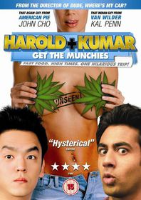 Harold and Kumar Get The Munchies - (Import DVD)