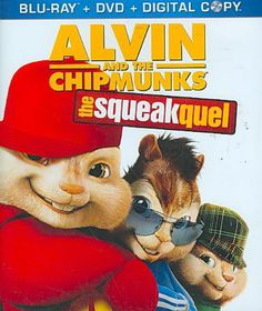 Alvin and the Chipmunks:Squeakquel - (Region A Import Blu-ray Disc)