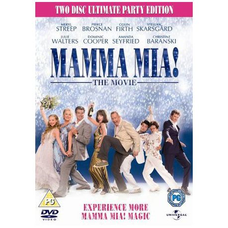 Mamma Mia 2 Disc Ultimate Party Edition Import Dvd Buy