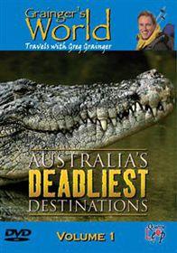 Australia's Dealiest Destinations - Vol. 1 - (Import DVD)