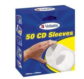 Verbatim - CD Sleeves - 50 Pack