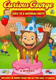 Curious George:Goes to a Birthday Par - (Region 1 Import DVD)