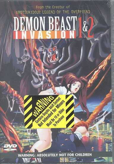 Demon Beast Invasion 1 & 2 - (region 1 Import Dvd) | Buy ...