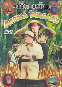 Africa Screams - (Region 1 Import DVD)