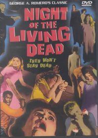 Night of the Living Dead - (Region 1 Import DVD)