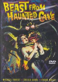Beast from Haunted Cave - (Region 1 Import DVD)