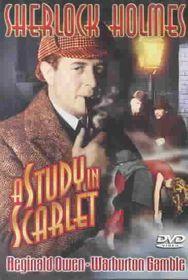Sherlock Holmes:Study in Scarlet - (Region 1 Import DVD)