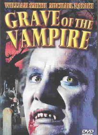 Grave of the Vampire - (Region 1 Import DVD)