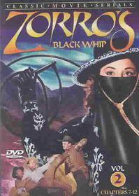 Zorro's Black Whip Vol 2 - (Region 1 Import DVD)