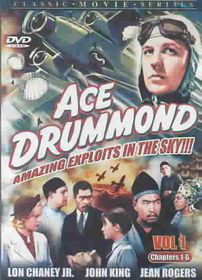 Ace Drummond - Volume 1 - (Region 1 Import DVD)