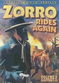 Zorro Rides Again:Vol 2 (Chap. 7-12) - (Region 1 Import DVD)