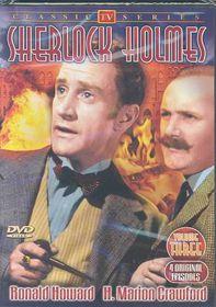 Sherlock Holmes:TV Classics Vol 3 - (Region 1 Import DVD)