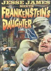 Jesse James Meets Frankenstein's Daughter - (Region 1 Import DVD)
