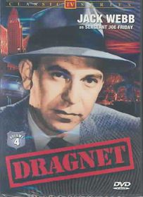 Dragnet:TV Classics Vol 4 - (Region 1 Import DVD)