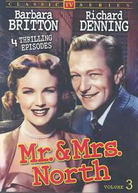 Mr & Mrs North:Vol 3 - (Region 1 Import DVD)