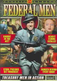 Federal Men:Vol 1 Classic TV - (Region 1 Import DVD)