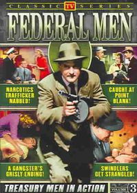 Federal Men:Vol 3 Classic TV - (Region 1 Import DVD)